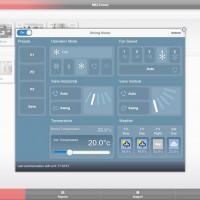 Мобильное приложение для управления климатической техникой Mitsubishi Electric по wi-fi.