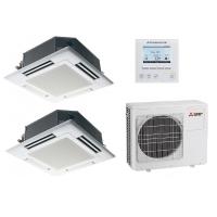 Мульти-сплит система PLA-RP50EAx2/MXZ-4E72VA Mitsubishi Electric