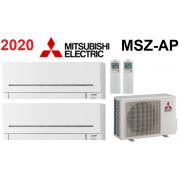 Мульти-сплит-система Mitsubishi Electric MXZ-2D33VA + 2 внутренних блока серии Standard AP (25+25)
