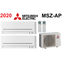 Мульти-сплит-система Mitsubishi Electric MXZ-3E54VA + 2 внутренних блока серии Standard AP (15+15)