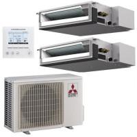 Мульти-сплит система SEZ-KD25VAQx2/MXZ-2D33VA Mitsubishi Electric