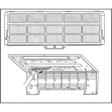 Антиаллергенная фильтрующая вставка MAC-171FT-E Mitsubishi Electric