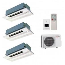 Мульти-сплит система MLZ-KA35VAx3/MXZ-4E72VA Mitsubishi Electric